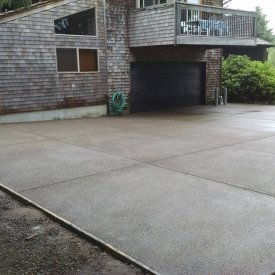 exsposed driveway